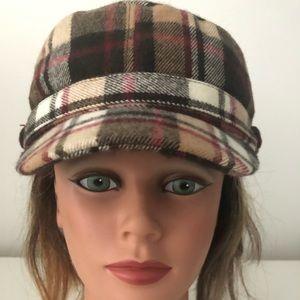 Black Rivet Winter Hat